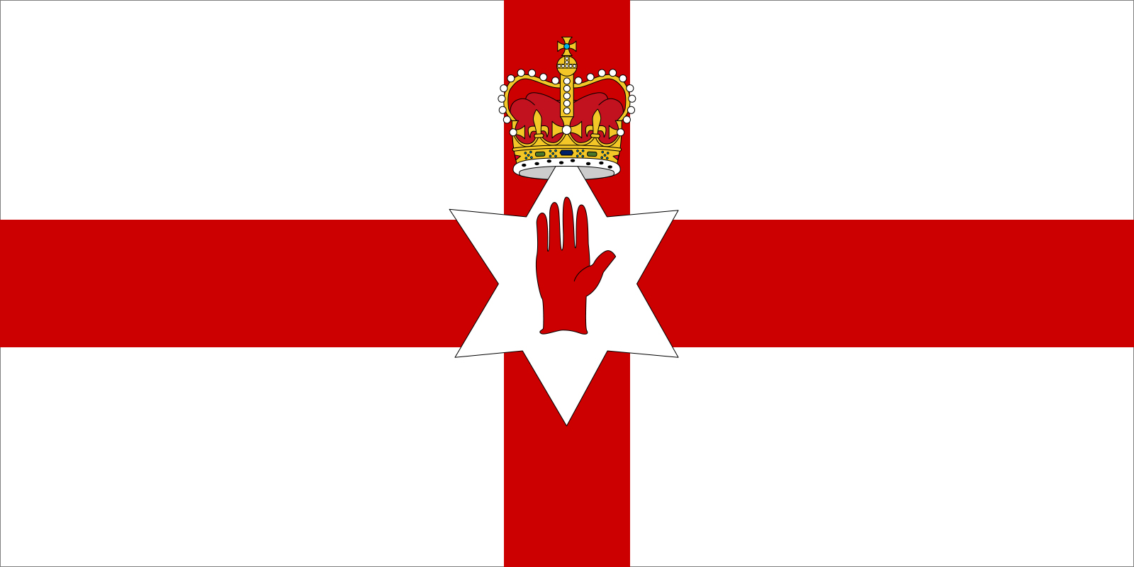 Flag of Northern Ireland | unofficial flag of a unit of the United Kingdom  | Britannica